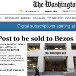 Con The Washington Post Jeff Bezos compró su entrada al poder político